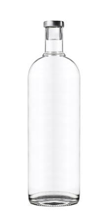 Beautifully Clear Lit Wine Bottle