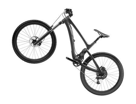 mountain bike isolated
