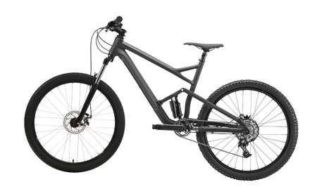 mountain bike isolato