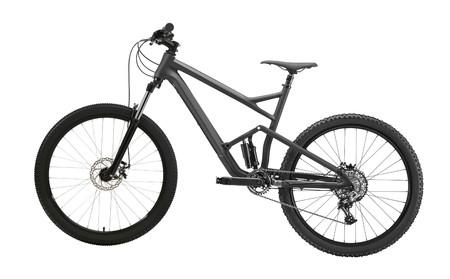 vélo de montagne isolé