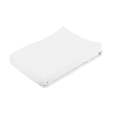white spa towel isolated Stock Photo