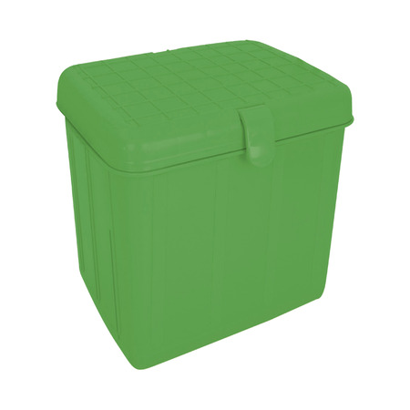 green cooling box Stock Photo