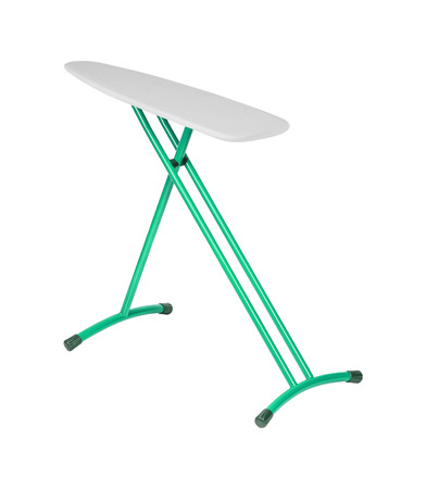 Ironing board, isolated on a white background