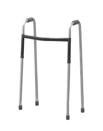 walker for elderly, disabled or injured isolated on white
