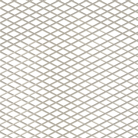 metal grid isolated on white
