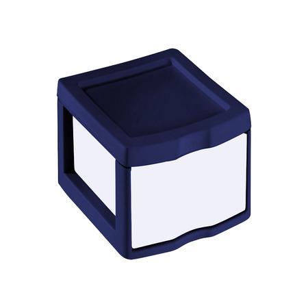 plastic container for ice cream or dessert