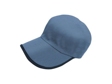 Blue Baseball Hat Stock Photo