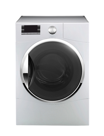 washing machine isolated Banque d'images