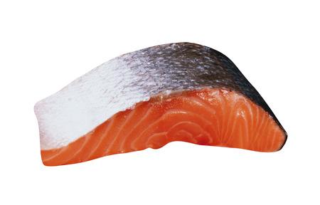 Fresh raw salmon fille Banco de Imagens