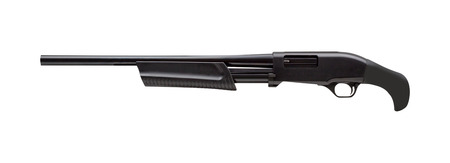 semi-automatic pump action shotgun