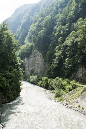 rivière de montagne Banque d'images