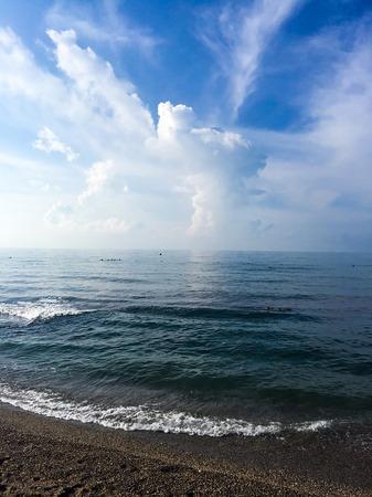 Sea and waves Banco de Imagens