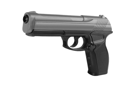 Handgun isolated on white Stock Photo