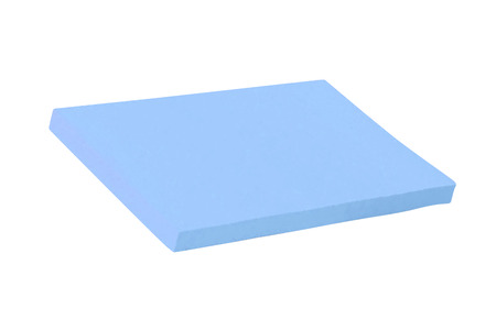 blue clean sponge isolated