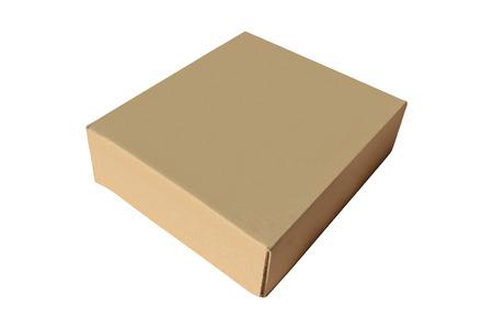 box made of cardbord Фото со стока