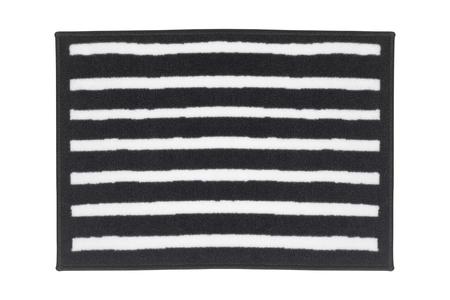 striped carpet isolated Stok Fotoğraf