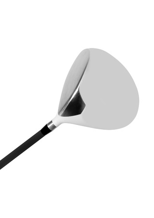 Golf club isolated on white