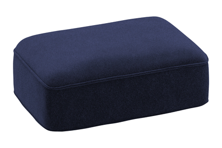 blue pillow isolated