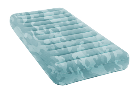 Air mattress isolated on white