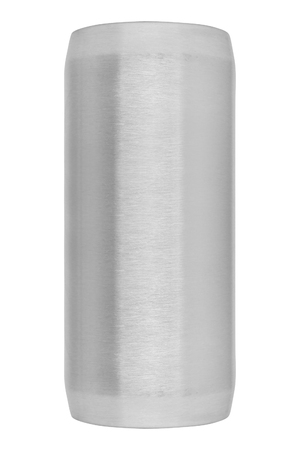 metal cylinder isolated on white background Stock Photo