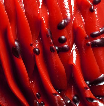 ice cream close-up view Banco de Imagens