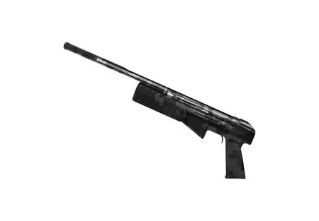 A gun isolated on white
