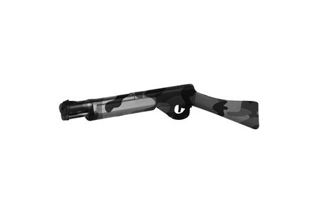 Rifle Isolated On White 版權商用圖片