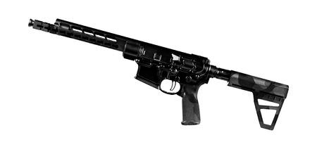 specops rifle isolated Stock Photo
