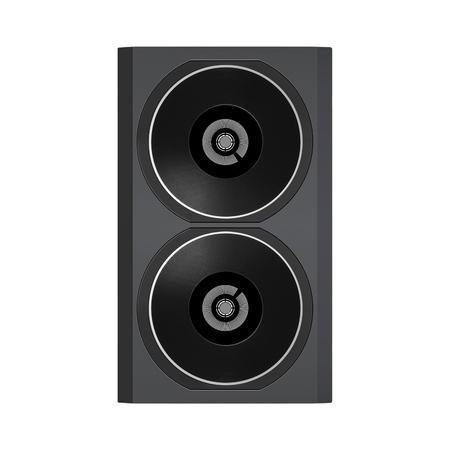Audio speaker isolated Stock Photo