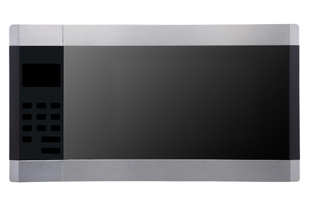 a microwave oven isolated