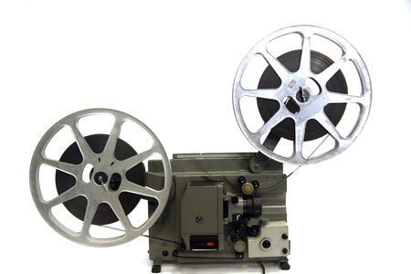 16mm: 16mm projection equipment Stock Photo