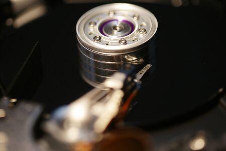 disco duro: Unidad de disco duro abierto