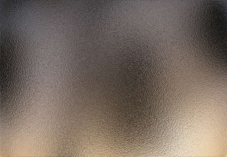 Chrome metal sheet with a slight reflection of the environment