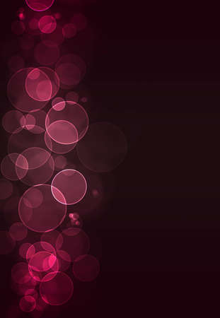 Colorful pink bokeh burst background Stock Photo