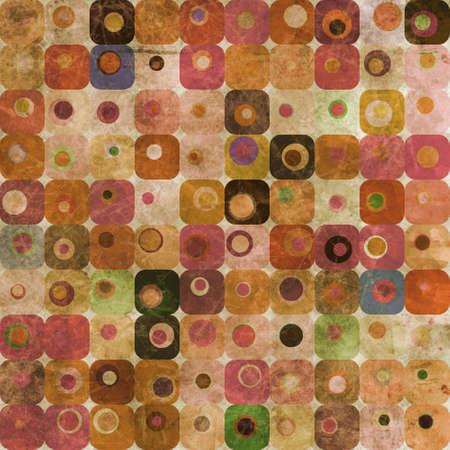 Abstract squares and circles Stock Photo - 9367091