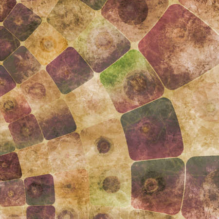 An abstract grungy image of squares curved,  in purple tones Banco de Imagens - 9367088