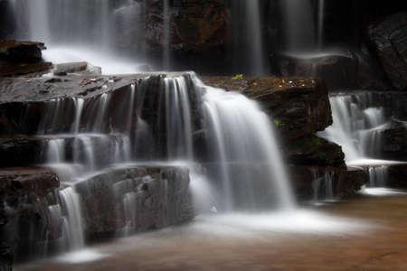 Kbal Chhay Waterfalls in Cambodia Banco de Imagens