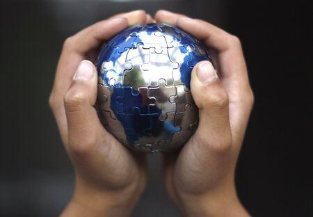 Earth Puzzle Stock Photo - 1010212