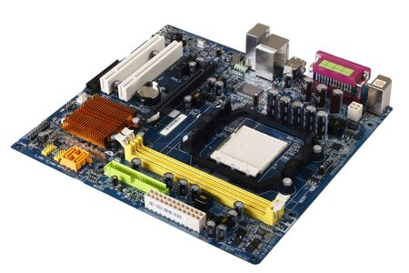 computer motherboard photo