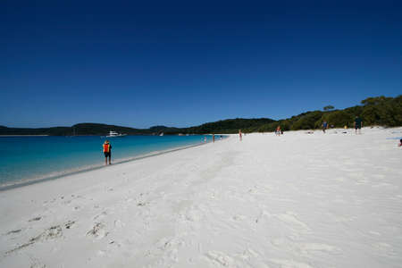 whitehaven: whitehaven beach Stock Photo