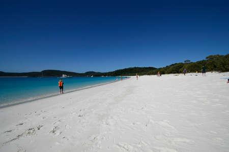 whitehaven: whitehaven beach Stock Photo