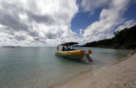 whitehaven beach: whitehaven beach Stock Photo