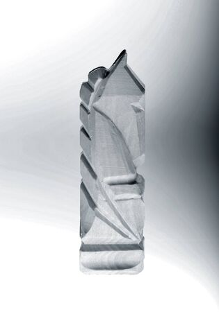 gamesmanship: de madera tallada piezas de ajedrez - caballero blanco