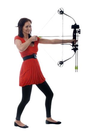 pretty archer girl photo