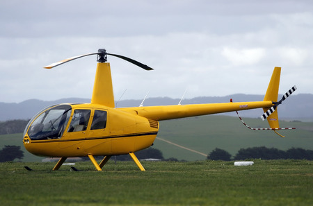 airfoil: Modern helicopter Stock Photo