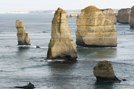 great bay: The Twelve Apostles Stock Photo