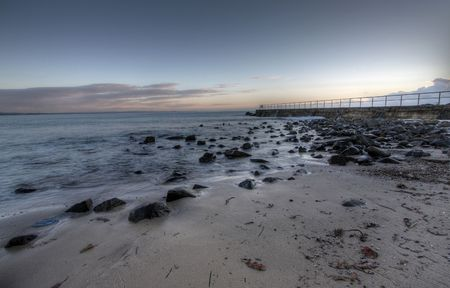 great bay: Forster Beach Rocks