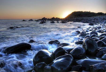 Forster Beach Rocks Stock Photo - 2568373