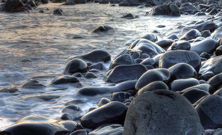 Forster Beach Rocks