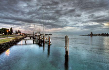 great bay: morning scenery